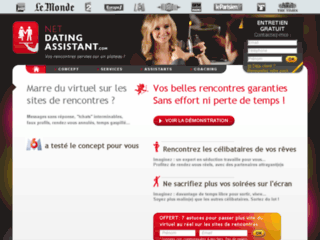 Détails : Net Dating Assistant- Des dating assistants à votre disposition pour vos sites de rencontres