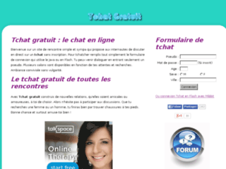 Tchat gratuit : Tchat sans inscription